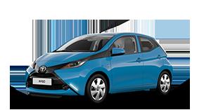 Toyota AYGO - Concessionaria Toyota Lucca e provincia